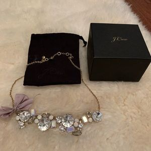 Jcrew necklace like new with box and dust bag
